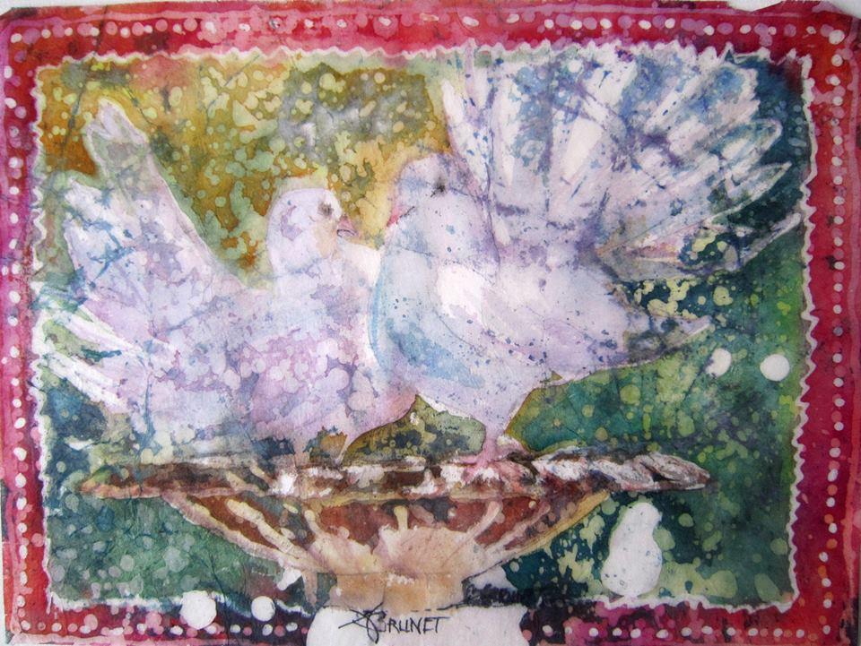 colombe batik
