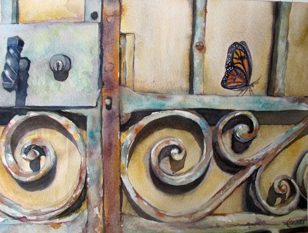 FRANCE_Emmanuelle BRUNET_L'effet papillon_28x38_2020